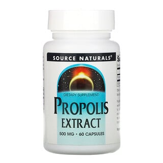 Source Naturals, Propolis Extract, 500 mg, 60 Capsules