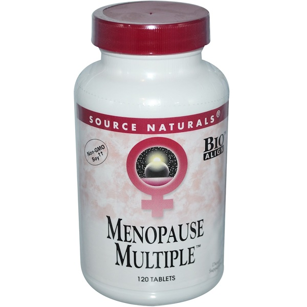 Source Naturals, Menopause Multiple, 120 Tablets (Discontinued Item)