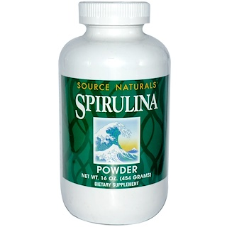 Source Naturals, Spirulina Powder, 16 oz (454 g)