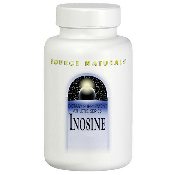 Source Naturals, Inosine, 500 mg, 60 Tablets