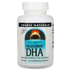 Source Naturals, Neuromins DHA,200 毫克,120 粒素食軟膠囊