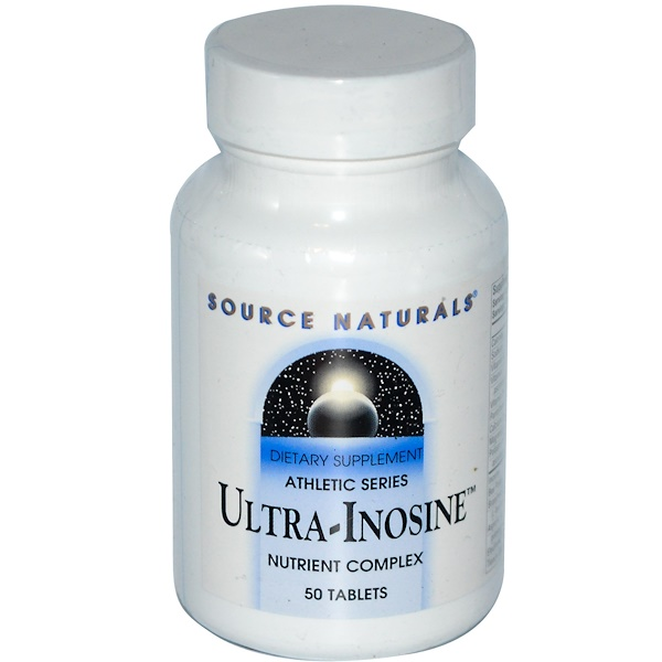 Source Naturals, Ultra-Inosine, Athletic Series, 50 Tablets (Discontinued Item)