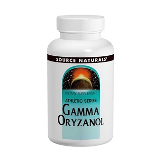 Source Naturals, Gamma Oryzanol, 60 mg, 100 Tablets