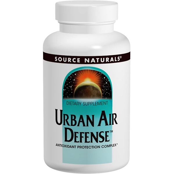 Source Naturals, Urban Air Defense, 60 Tablets (Discontinued Item)