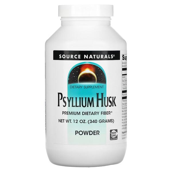 Psyllium Husk Powder, 12 oz (340 g)
