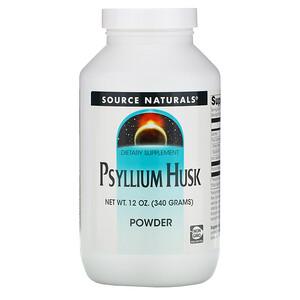 Сорс Начэралс, Psyllium Husk Powder, 12 oz (340 g) отзывы покупателей