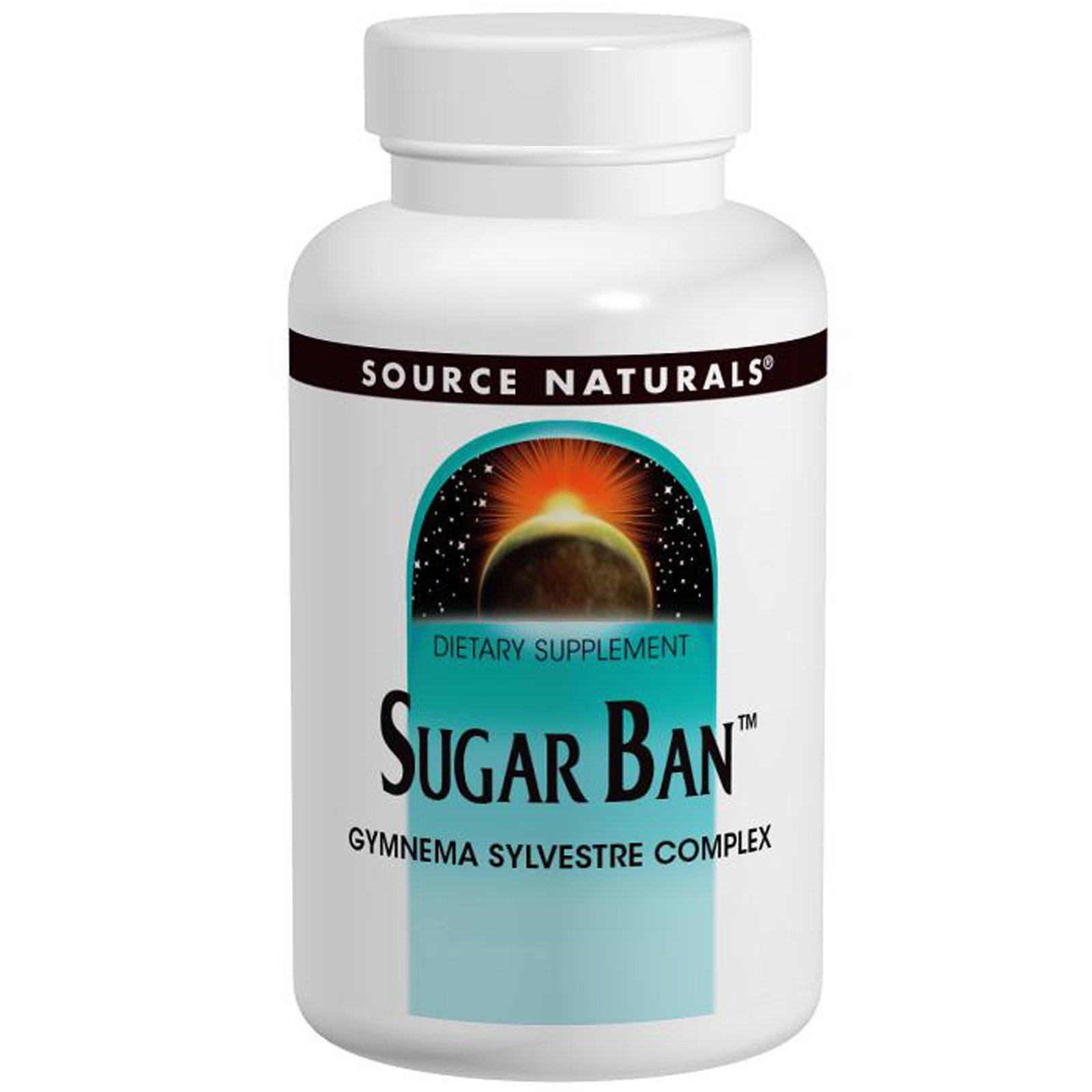 Source Naturals, Sugar Ban, 75 таблеток