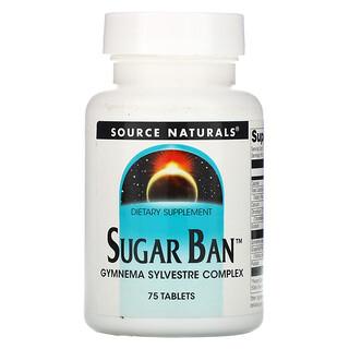Source Naturals, Sugar Ban, 75 Tablets