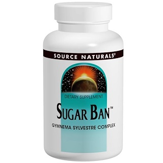 Source Naturals, Sugar Ban, 75 Tablets
