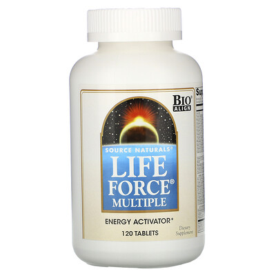 Source Naturals Life Force Multiple, 120 таблеток