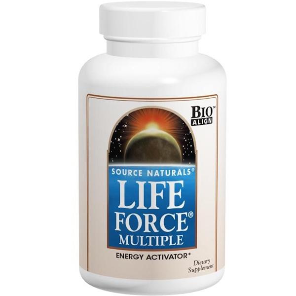 Source Naturals, Life Force 多種營養素, 120 片