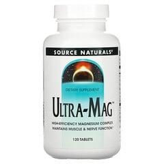 Source Naturals, 超鎂片劑,120片
