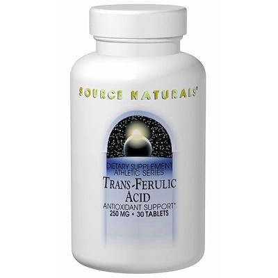 Транс-aеруловая кислота, 250 мг, 30 таблеток