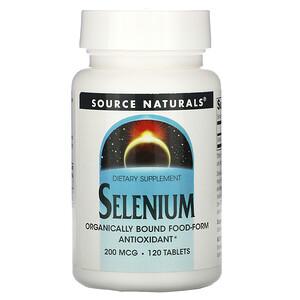 Сорс Начэралс, Selenium, 200 mcg, 120 Tablets отзывы