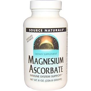 Source Naturals, Magnesium Ascorbat, 8 oz (226.8 g)