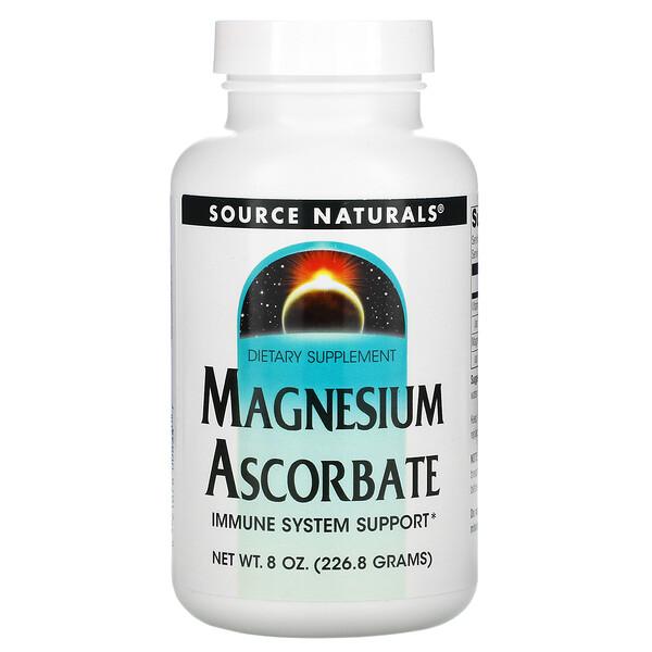 Magnesium Ascorbate, 8 oz (226.8 g)