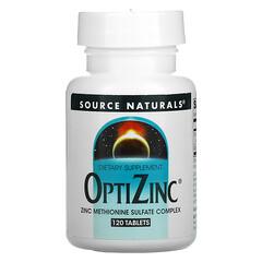 Source Naturals, OptiZinc 鋅片,120 片
