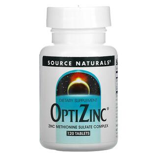 Source Naturals, OptiZinc, 120 Tablets