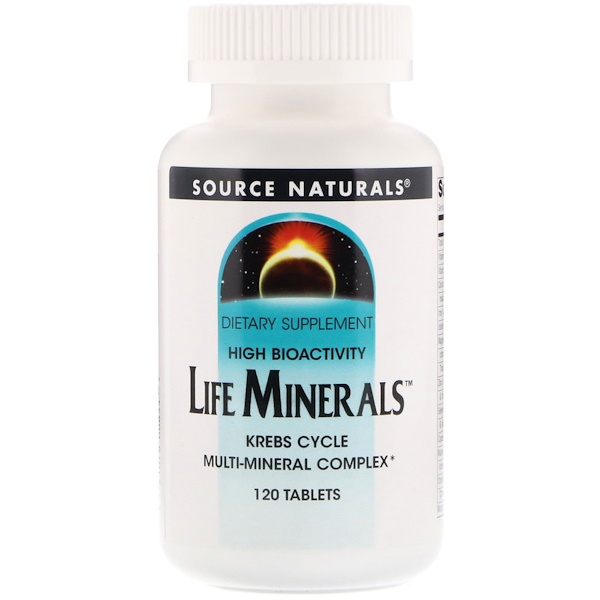 Source Naturals, Life Minerals, 120 Tablets (Discontinued Item)