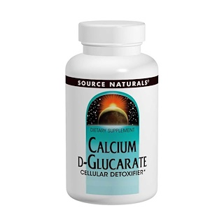 Source Naturals, Calcio D-Glucarato, 500 mg, 120 Pastillas