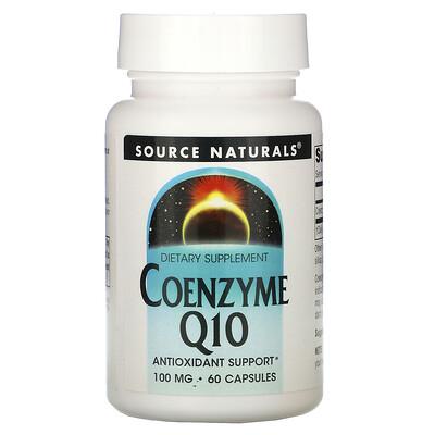 Source Naturals Кофермент Q10, 100 мг, 60 капсул
