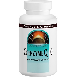 Source Naturals, Coenzyme Q10, 100 mg, 60 Capsules