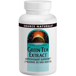 Source Naturals, Green Tea Extract, 60 Tablets