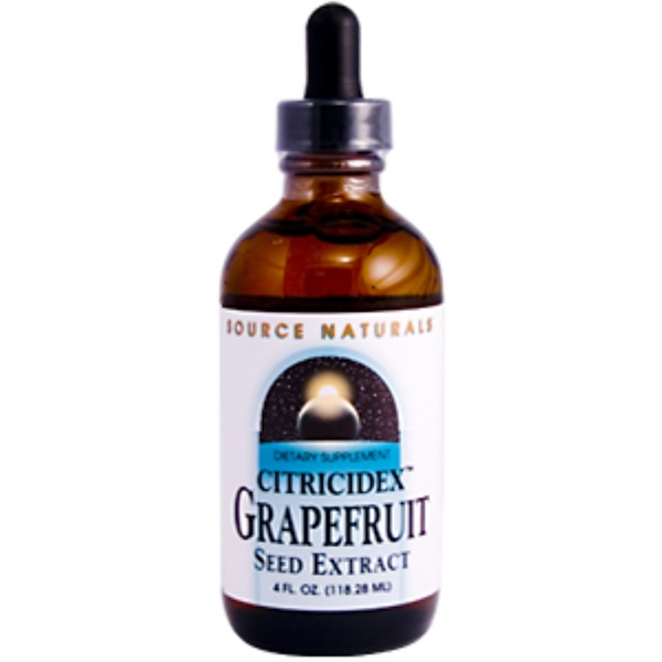 Source Naturals, Citricidex Grapefruit Seed Extract, 4 fl oz (118.28 ml) (Discontinued Item)