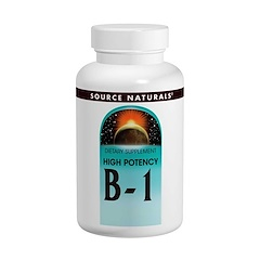 Source Naturals, B-1, High Potency, 500 mg, 100 Tablets