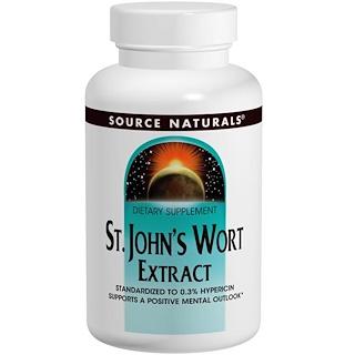 Source Naturals, Johanniskraut Extrakt, 300 mg, 240 Tabletten