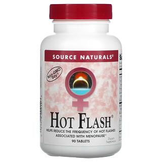 Source Naturals, Hot Flash, 90 Tablets