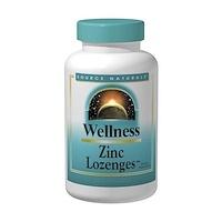 Wellness, Цинковые пастилки, персик и малина, 23 мг, 120 пастилок - фото