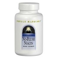 Ниацин - никотиновая кислота без приливов жара, 500 мг, 60 таблеток - фото