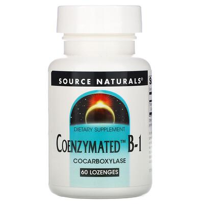 Source Naturals Coenzymated B-1, 60 Lozenges
