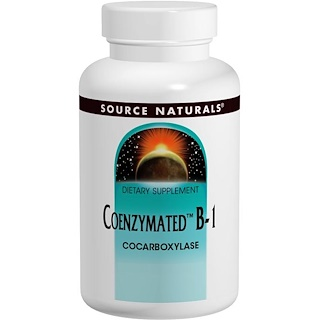 Source Naturals, Coenzymated維生素B1含片,60片