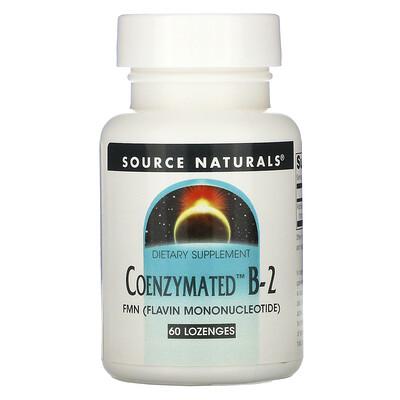 Source Naturals Coenzymated B-2, 60 Lozenges