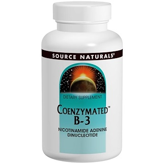 Source Naturals, Coenzymated B-3, Sublingual, 25 mg, 60 Tablets