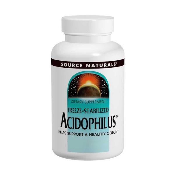 Source Naturals, Acidophilus Powder, Freeze-Stabilized, 2 oz (56.7 g) (Discontinued Item)