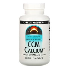 Source Naturals, CCM 鈣,300 毫克,120 片