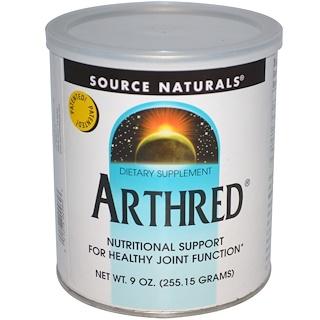Source Naturals, Arthred, 9 온스 (255.15 g)