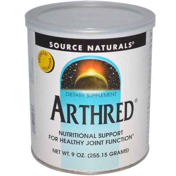 Source Naturals, Arthred, 9 oz (255.15 g)