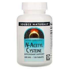 Source Naturals, N-乙醯半胱氨酸補充片,600毫克,120片