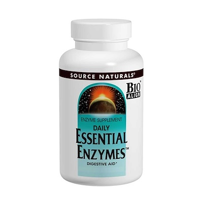 Купить Ферменты для ежедневного применения, 500 мг, 240 капсул
