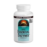 Ферменты для ежедневного применения, 500 мг, 240 капсул - фото