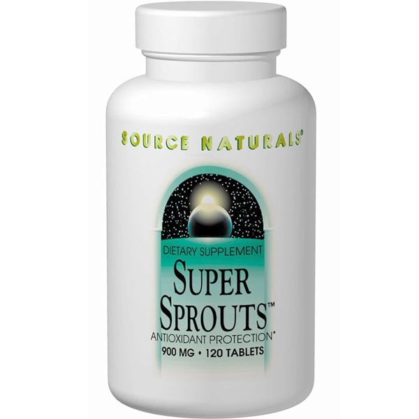 Source Naturals, Super Sprouts, 900 mg, 120 Tablets (Discontinued Item)