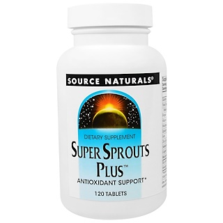 Source Naturals, Super Sprouts Plus, 120 Tablets