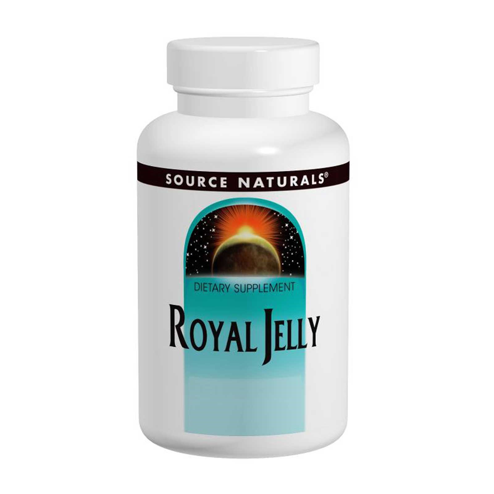 royal jelly 500mg capsules