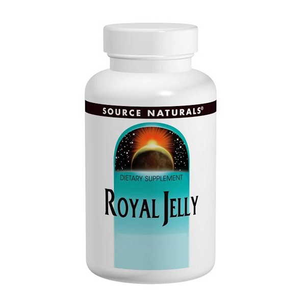 Source Naturals, Royal Jelly, 500 mg, 60 Capsules (Discontinued Item)