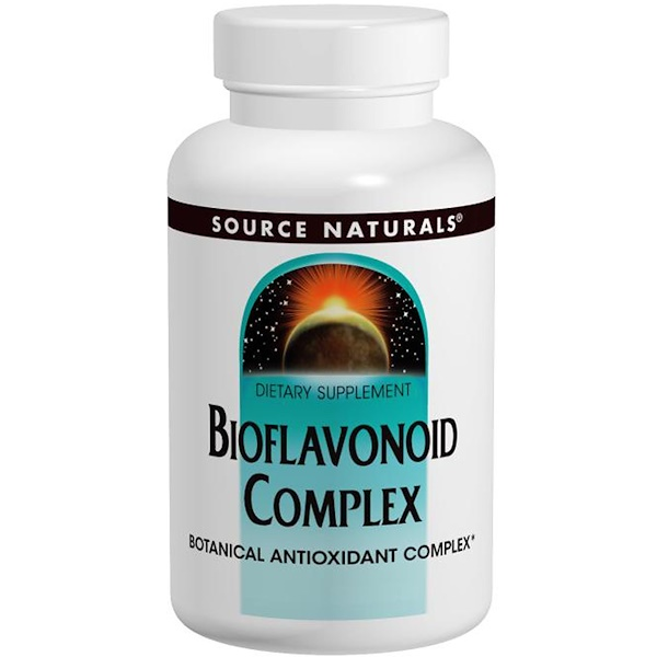Source Naturals, Bioflavonoid Complex, 60 Tablets (Discontinued Item)