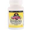 Source Naturals, Resveratrol, 60 Tablets